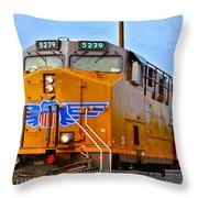 The 5279 To Reno Throw Pillow