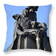 The Actor - Shakespere Memorial Throw Pillow