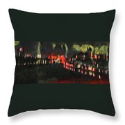 The Air That We Breath  Throw Pillow