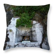 The Altar 2 Throw Pillow