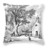 The Ancient Oak Throw Pillow by Granger
