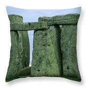 The Ancient Ruins Of Stonehenge Throw Pillow