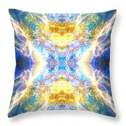 The Angel Of Clearing Throw Pillow