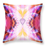 The Angel Of Confidence And Self Worth Throw Pillow