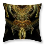 The Angel Of Friendship Throw Pillow