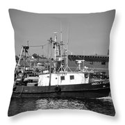 The Angela Rose Throw Pillow