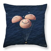 The Apollo 16 Command Module Throw Pillow