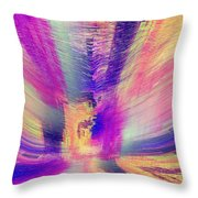 The Apparition Throw Pillow
