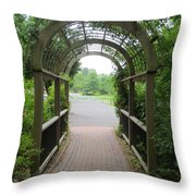 The Archway Throw Pillow