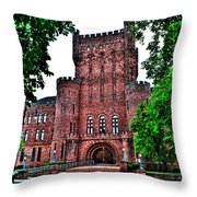 The Armory Throw Pillow
