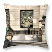 The Art Institute Of Chicago - 1 Throw Pillow