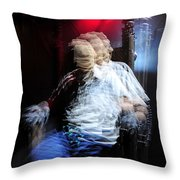The Art Of Execution Throw Pillow