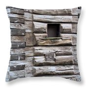 The Art Of Wood 3 Throw Pillow