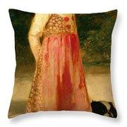The Artist's Daughter - Hilde   Throw Pillow
