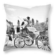 The Ave Throw Pillow
