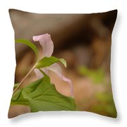 The Backside Of  Throw Pillow