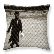 The Bag Lunch Throw Pillow