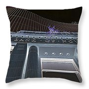 The Bank Of Nova Scotia Night Throw Pillow