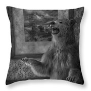 The Bare Wall Throw Pillow