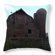 The Barn II Throw Pillow