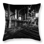 The Barn IIi Throw Pillow