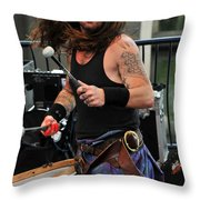 The Baron Of Bass Throw Pillow