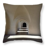 The Barracks Were Built With Vaulted Throw Pillow