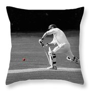 The Batsman Throw Pillow