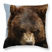 The Bear 2 Throw Pillow