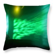 The Beat Goes On Throw Pillow by Kamil Swiatek