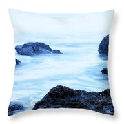 The Beautiful Brine Unsettled Throw Pillow