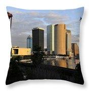 The Beautiful City Throw Pillow