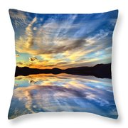 The Beauty Before The Darkness Throw Pillow