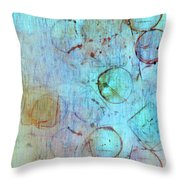 The Beauty In Shapes Throw Pillow
