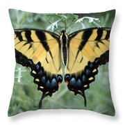 The Beauty Of A Butterfly Throw Pillow