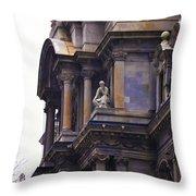 The Beauty Of Philadelphia City Hall Throw Pillow