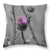 The Bee Matters Throw Pillow