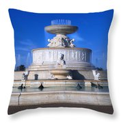 The Belle Isle Scott Fountain Throw Pillow