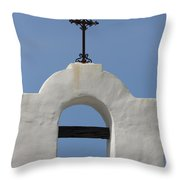 The Bellfry Arch Throw Pillow