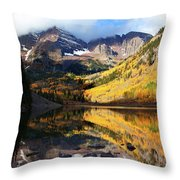 The Bells Are Ringlng Throw Pillow