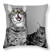 The Bengals Throw Pillow