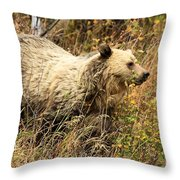 The Berry Hunter Throw Pillow