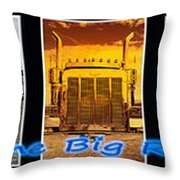 The Big Rigs Group Pic Throw Pillow