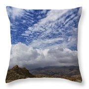The Big Sky Throw Pillow