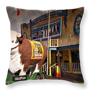 The Big Texan - Impressions Throw Pillow