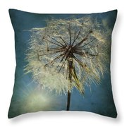 The Blowing Sun Throw Pillow