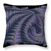 The Blue Highway Throw Pillow