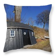 The Boat House Throw Pillow
