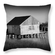 The Boathouse Throw Pillow