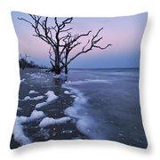The Boneyard At Botany Bay - D006884 Throw Pillow